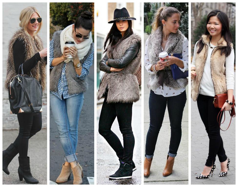 Faux Fur Vest Daily Style