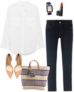Relatively casual but stylish for a day of shopping