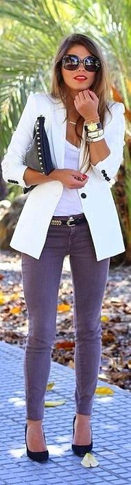 white blazer 7